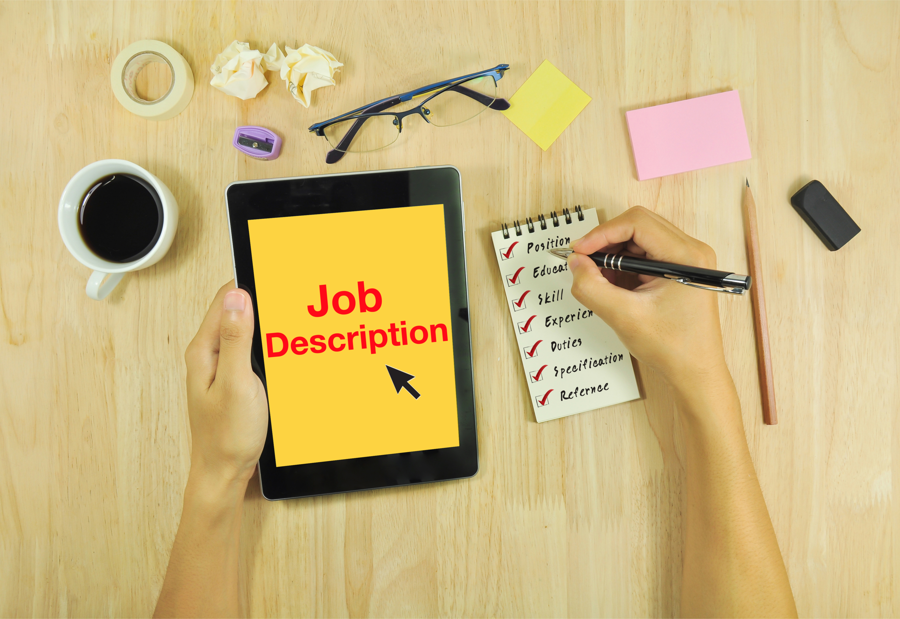 Why Your Job Description isn't Working and How to Fix That