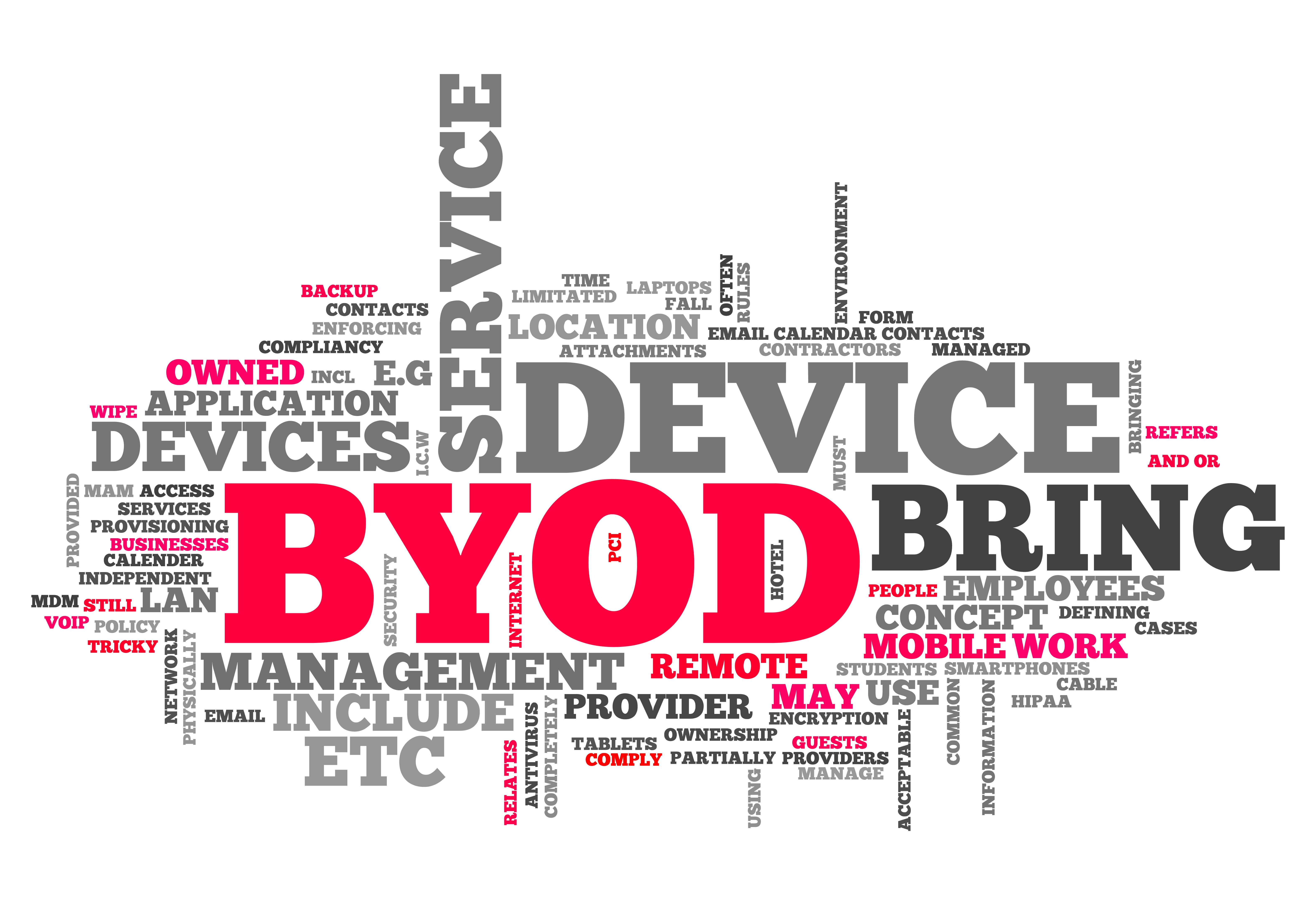 How to successfully introduce BYOD 'Bring Your Own Device' schemes into your organisation