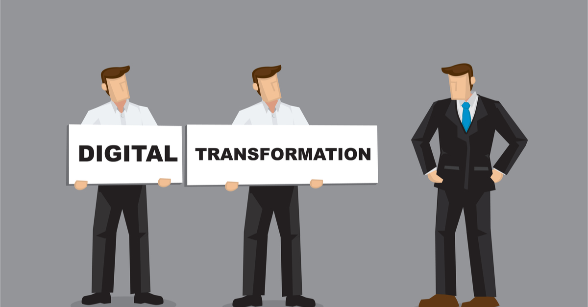 Delaying investment in digital transformation would be a serious mistake